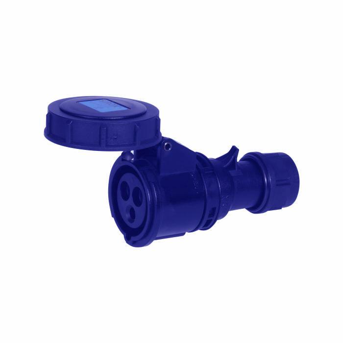 SIROX® CEE-Kupplung - 3-polig - Nennspannung 230 V - Nennstrom 16 A - Schutzart IP 67