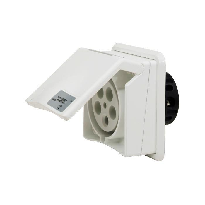 SIROX® AP-Steckdose - 5-polig - Nennspannung 400 V - Nennstrom 16 bzw. 32 A - Schutzart IP 44
