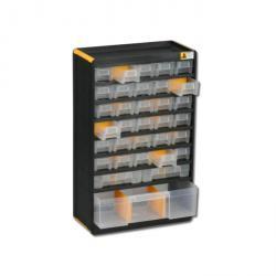 Kleinteiledepot VarioPlus Depot P 47 - mit 33 Schubladen - Außenmaße (B x T x H) 300 x 135 x 480 mm