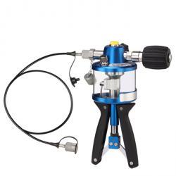 Hydraulisk provpump - Tryckområde 0 till 700 bar - med och utan tillbehör
