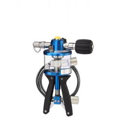 Hydraulic test pump - pressure range 0 to 1000 bar - with and without accessories