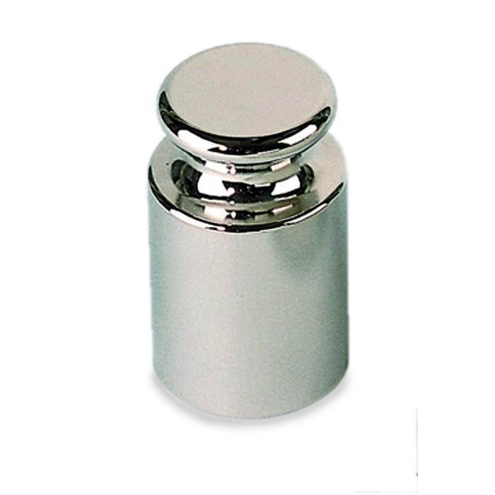 Test Vægt M 1 - 1 g op til 10 kg - knap form - fint vendt rustfrit stål