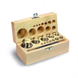 Weight Set M 2 - 8 Test weights - 1 g to 200 g - button shape - Brass