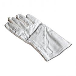 Handskar - läder/bomull - 1 par