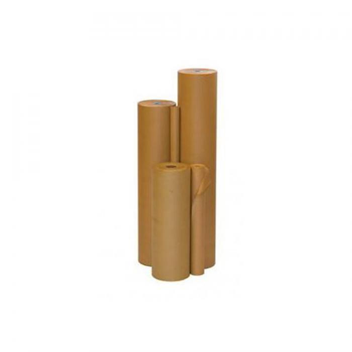 Omslagspapper - kraftpapper - 70 g / m² - i olika bredder - på rulle