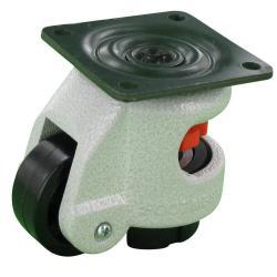 Heberolle - mit Anschraubplatte –  Rad-Ø 42 mm – Tragkraft 50 kg
