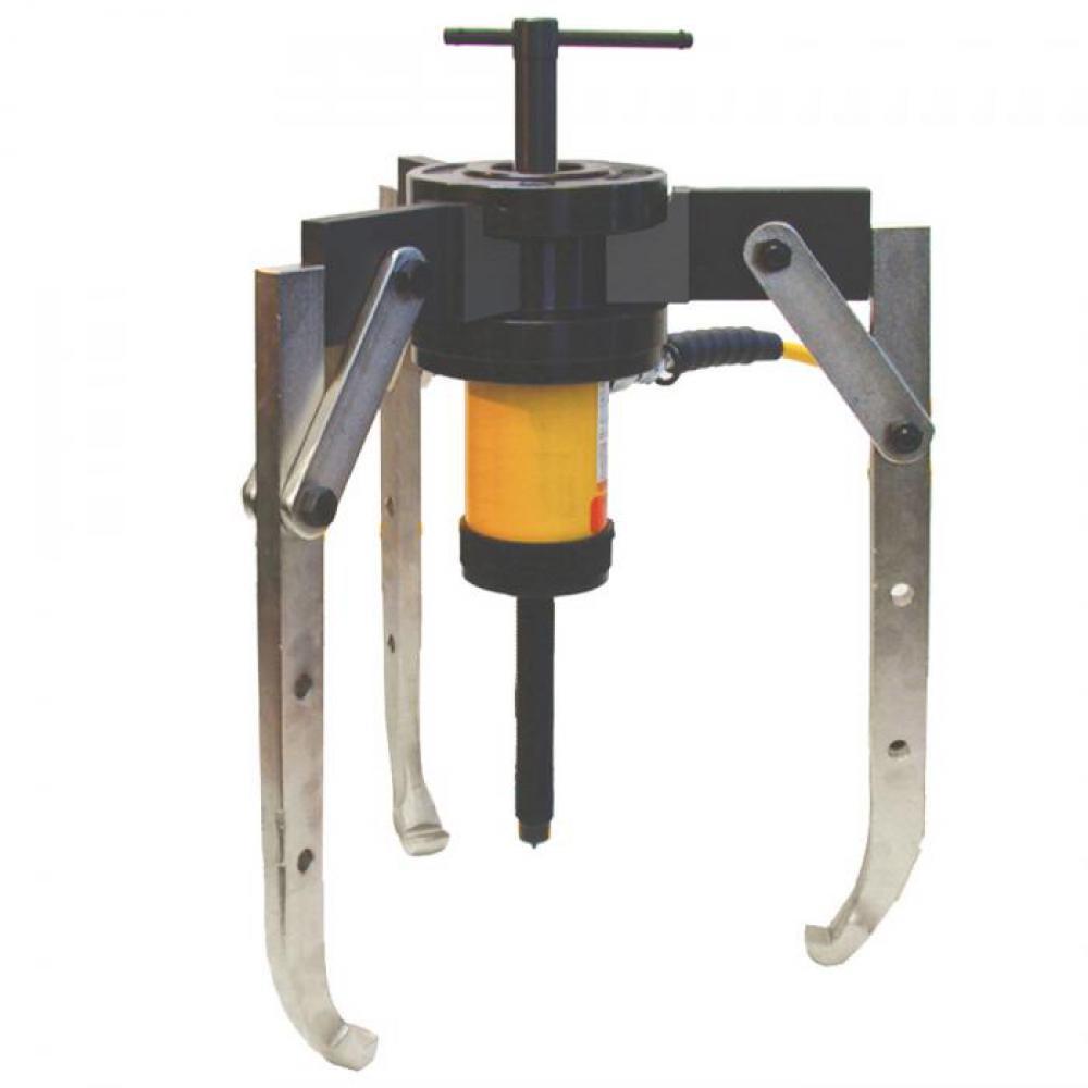 Hydraulischer Abzieher - 3-armig - Kolbenhub 64 mm - max. Druckkraft 30 t