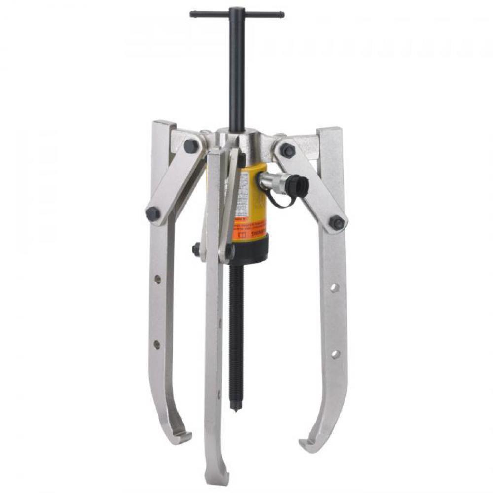 Hydraulischer Abzieher - 3-armig, höhenverstellbar - max. Druckkraft 50 t
