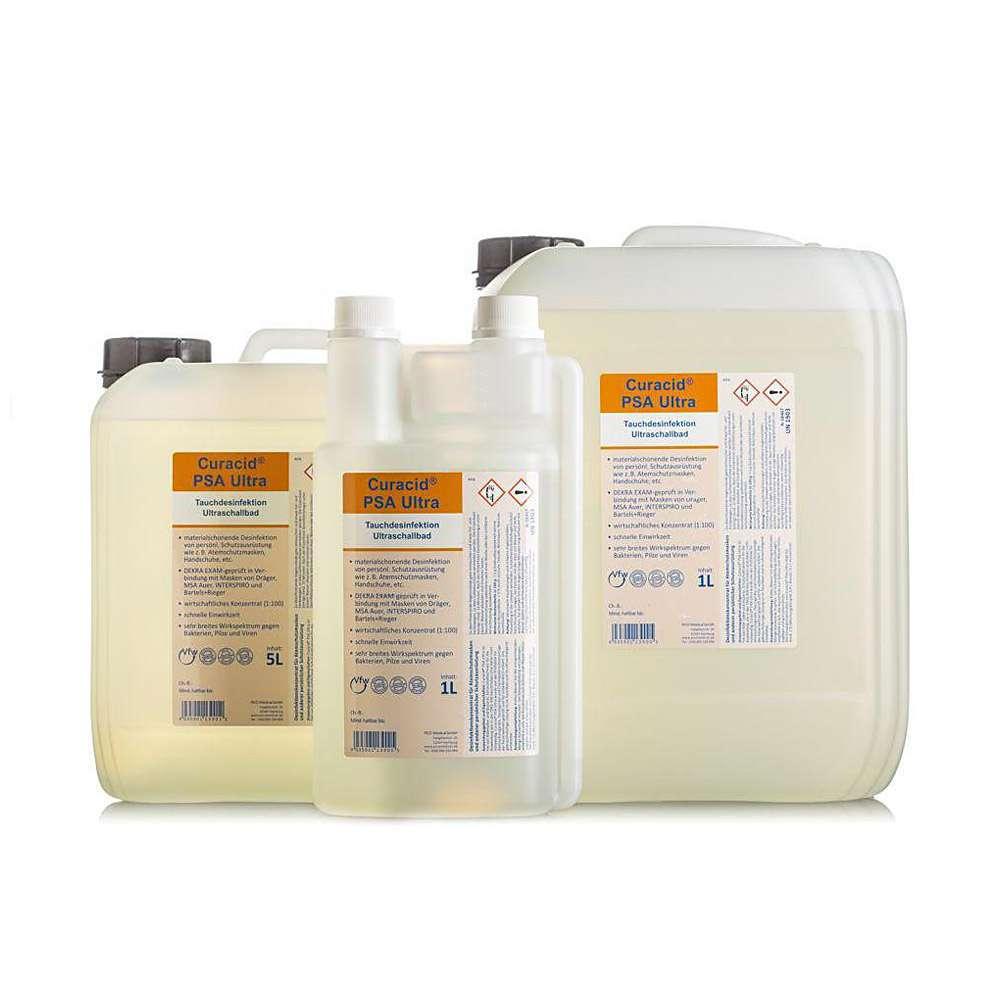 Curacid® PSA Ultra - Maskendesinfektion - bakterizid, fungizid, tuberkulozid
