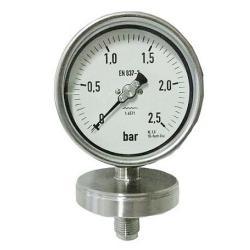Diaphragme - plage de mesure -1 à +2,5 bar - mode de réalisation de chimie - Type C-PLF EV VA NG 80