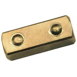 """Tilkobling Square - gnister - arbeider side 1/2 """"firkant - Lengde 36,5 mm"""