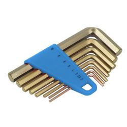 Nyckelsats - gnistbildning - 8 olika storlekar