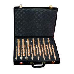 gnistbildning - - 15 st Twist Drill set. - 6 till 20 mm borr - berylliumkoppar
