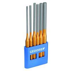 Splinttreiber-Satz - lange Form - 6-tlg - Durchmesser 4 bis 10 mm