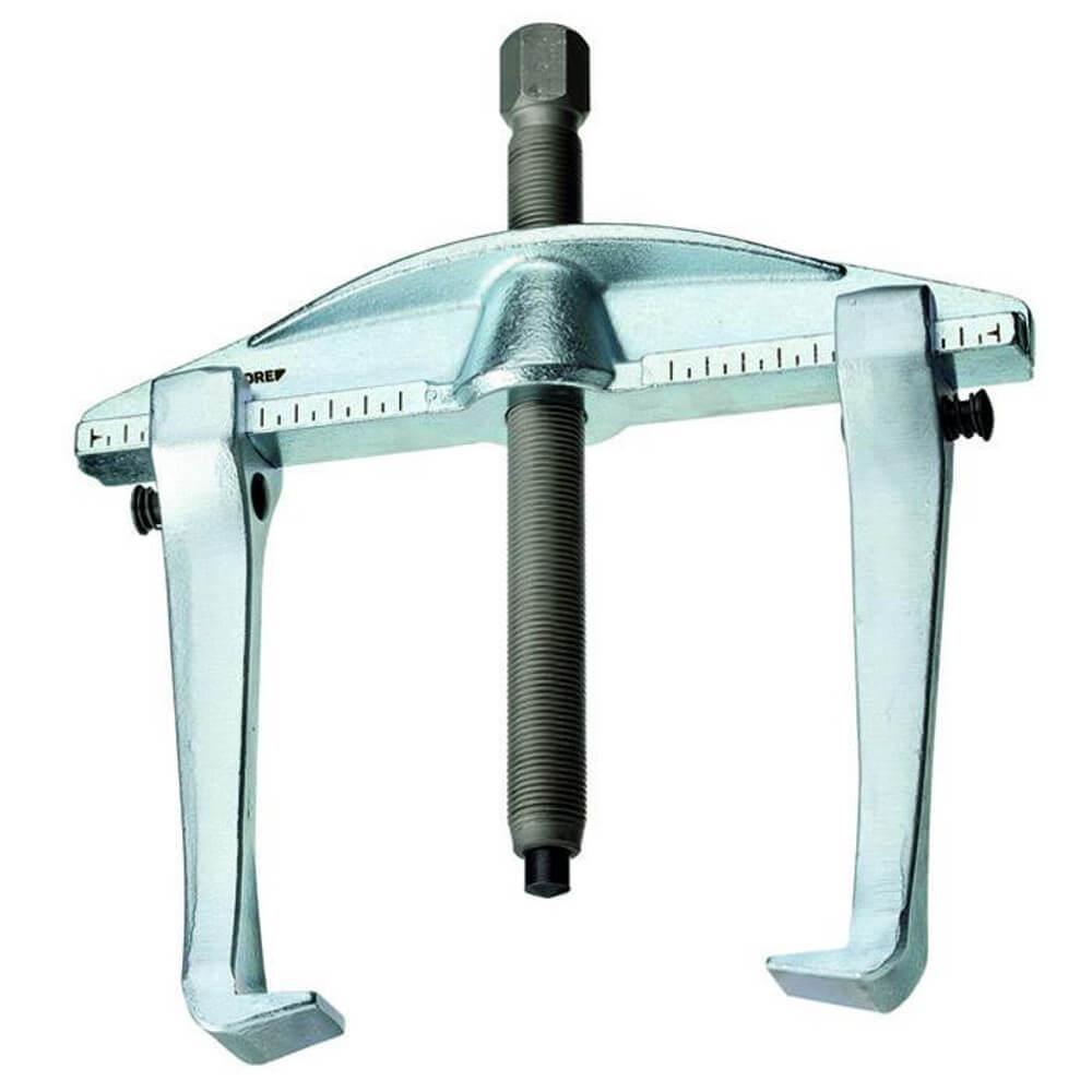 Universal-Abzieher - 2-armig, mit Hakenbremse - Spannweite (außen) 130 bis 350 mm