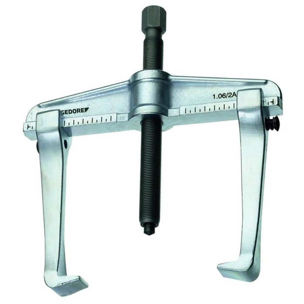 Universal-Abzieher - 2-armig, Hakenbremse - Spannweite (außen) 100 bis 520 mm