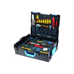 Werkzeugkoffer - GEDORE L-BOXX® 136 - 36-teiliger Satz für Elektriker