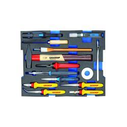 Tool modul - GEDORE L-BOXX® 136-15 bit kit för elektriker