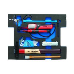Werkzeugmodul - GEDORE L-BOXX® 136 - 23-teiliger Satz für Sanitär, Heiz- und Klimatechnik