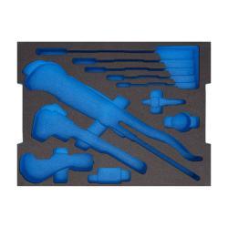 Skum - 2/2 tom modul för L-BOXX 136 - för sanitet, uppvärmning och luftkonditionering