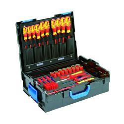 Werkzeugkoffer - GEDORE L-BOXX® 136 - 53-teiliger VDE-Satz Kfz-Hybrid