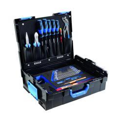 Werkzeugkoffer - GEDORE L-BOXX® 136 - 23-teilige Basisausstattung für alle Gewerbe