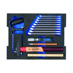 Werkzeugmodul - GEDORE L-BOXX® 136 - 14-teiliger Basis-Satz für alle Gewerbe