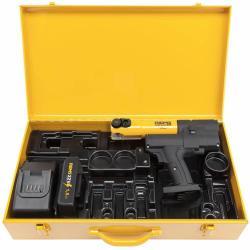 REMS Mini-Press 22V ACC Basic-Pack - Antriebsmaschine inkl. Zubehör - max. Pressverbindung Ø 40 mm