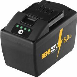 REMS Lithium-Ionen-Akku 21,6 V, 5,0 Ah - für REMS Mini-Press 22 V ACC, Mini-Press S 22 V ACC