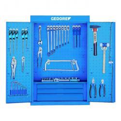 Werkzeugschrank - 3 Schubfächer - mit Werkzeugsortimenten