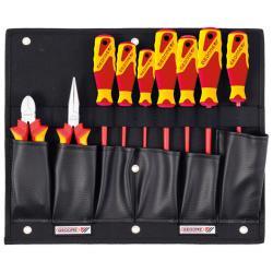 VDE-Zangen/Schraubendreher-Set - mit Werkzeugkarte