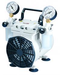 Kolvpumpen - utloppstryck 80 mbar eller 133 - för vakuum- och tryckapplikationer