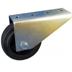 Torbockrolle / Torrolle - mit Anschraubplatte - Tragfähigkeit bis 50 Kg