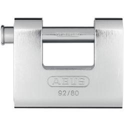 Vorhängeschloss - Modell Monoblock 92/80 - für schwer zugängliche Schließbereiche
