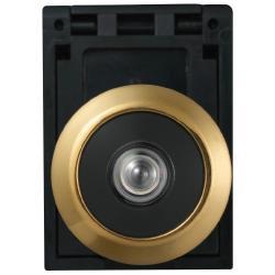 Restposten - Türspion - mit Weitwinkel von ca. 200° - für Türstärken 35 bis 53 mm - Modell 2300 G SB - SL 5 - Farbe gold