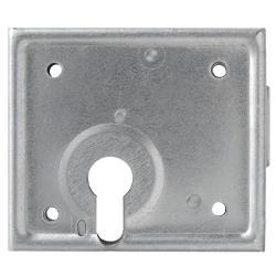 Restposten - Aufschraubschloss - Modell ASS PZ - für Profilzylinder gelocht - Modell ASS PZ - SL 5 - Dornmaß 60 mm