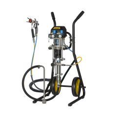 Puma 28-40 AC Spraypack auf Wagen - 224 bar - Kolbenpumpe - pneumatisch