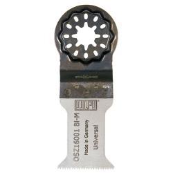 """Metallsägeblatt """"OSZ 160"""" - für oszillierende Werkzeuge - Breite 50 mm"""