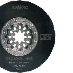 "Segmentsägeblatt ""OSZ 10601"" - für oszilierende Werkzeuge - Starlock-Aufnahme - Ø 85 mm"