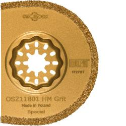 "Segmentsägeblatt ""OSZ 118"" - für oszilierende Werkzeuge - Starlock-Aufnahme - Ø 75 mm"
