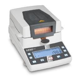 Feuchtebestimmer DAB - max. Wägebereich 200 g - Ablesbarkeit 0,05 g | 0,05 %