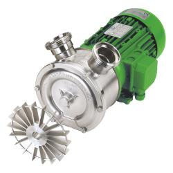 BY-PASS side channel pump EP NIRO 220/25 - 230 V - 58 l / min - 3,48 m³ / h - stainless steel housing and impeller