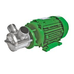 Impellerpumpe NIROSTAR 2000-D/PF - 166 l/min - 3 bar - 400 V - mit Motor und Kabel -  ohne Stecker