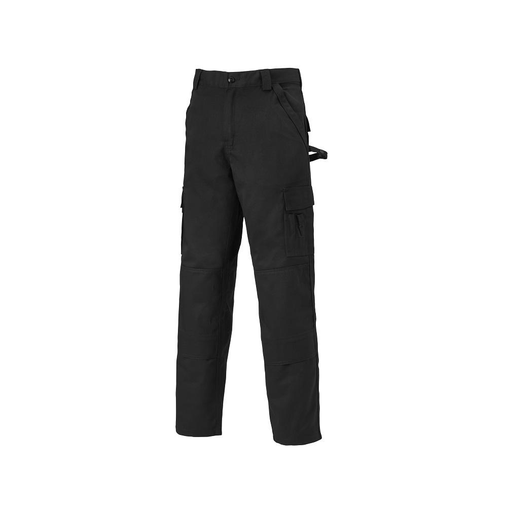 Byxor INDUSTRI TWO - Svart - Storlek 24 till 110 - 65% Polyester, 35% Bomull - 300 g / m²