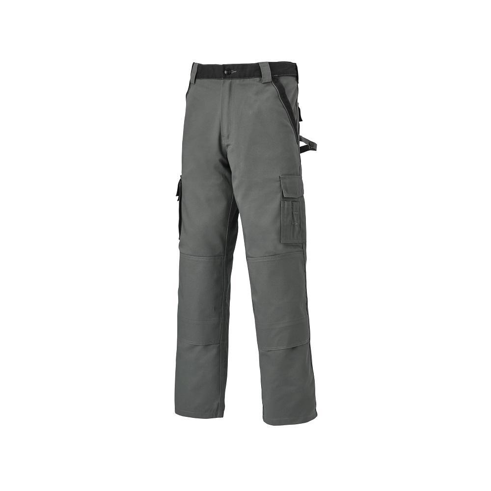 Byxor INDUSTRI TWO - Grå / Svart - Storlek 24 till 110 - 65% Polyester, 35% Bomull - 300 g / m²