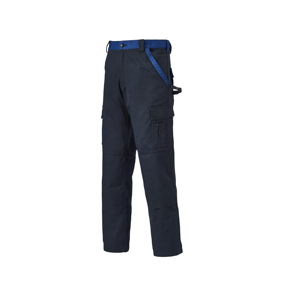 Byxor INDUSTRI TWO - Marin / Royal Blue - Storlek 24 till 110 - 65% polyester, 35% bomull - 300 g / m²