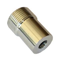 Bytemunstycke kiselkarbid med aluminiumbeläggning - munstycke Ø 6,4 eller 7,9 mm - utvändig grov tråd 25,7 mm