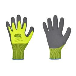 """Handskar """"Flexter"""" Stronghand - storlek 7 till 11 - latex - pack med 12 par - pris per förpackning"""