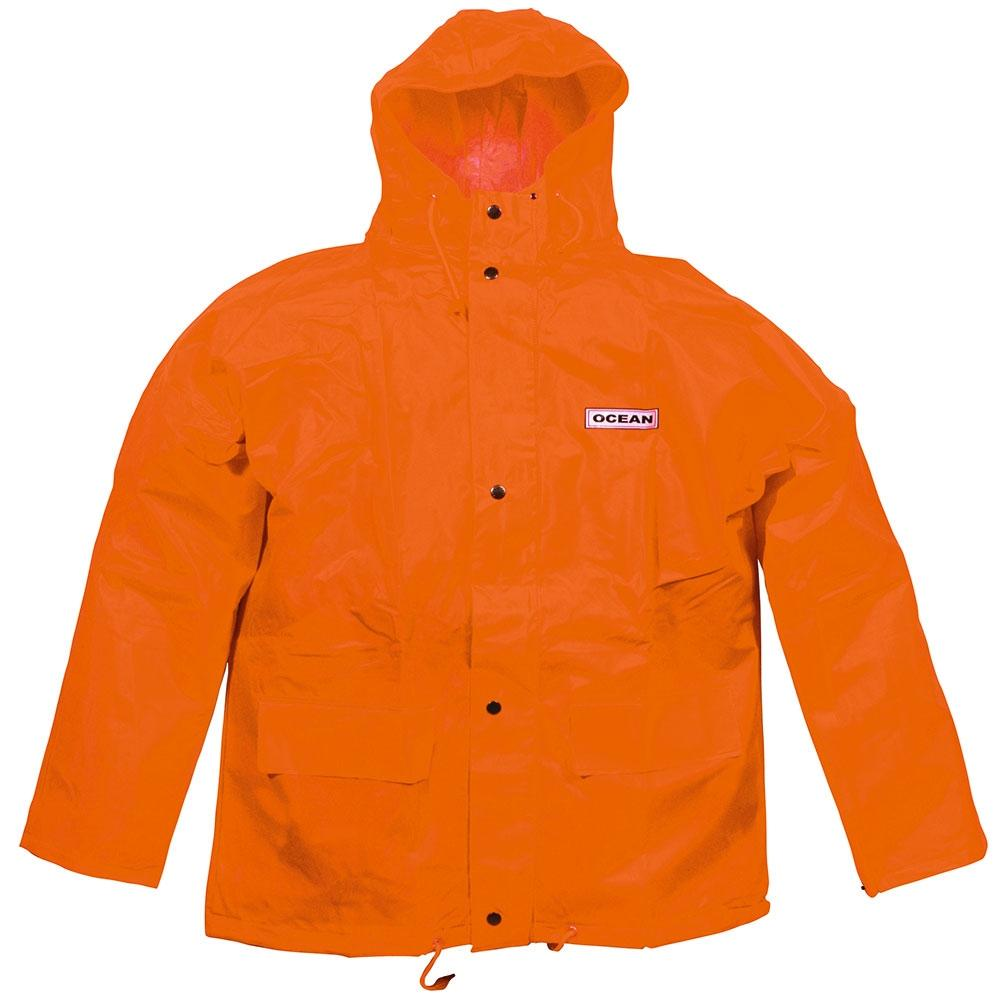 Giacca antipioggia Economy - Arancione - Taglia da S a XXXL - Colonna d'acqua> 20.000 mm