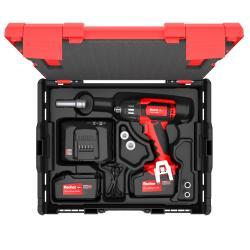 Bezprzewodowy klucz udarowy FSS 18 V 400 BL - Zestaw 3 - 2x akumulator 4.0 i ładowarka